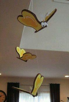 Schmetterlinge wie im Disney Zeichentrick Film.