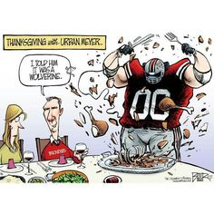 Thanksgiving With Urban Meyer:)