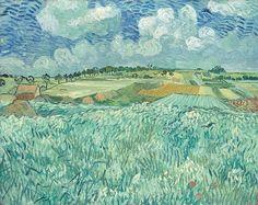 Vincent van Gogh - Plain Near Auvers, 1890.