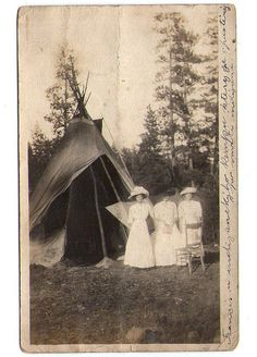 Price reduced Antique Tee Pee Photograph Historical by lucyandfaye