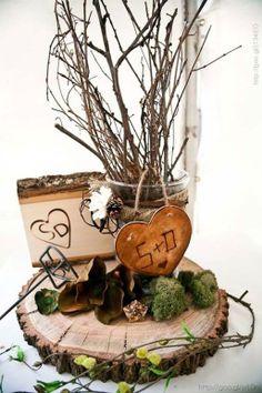 Decoración para boda en color café y madera #brown #wood #Wedding #decor #YUCATANLOVE