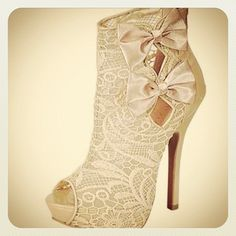 vintage lace boots