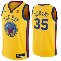 0287d82831b Golden State Warriors Nike Dri-FIT Men s Kevin Durant  35 MVP Collection Swingman  Jersey - Black