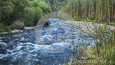 Stormy Mountain River - Download From Over 58 Million High Quality Stock Photos, Images, Vectors. Sign up for FREE today. Image: 91379039
