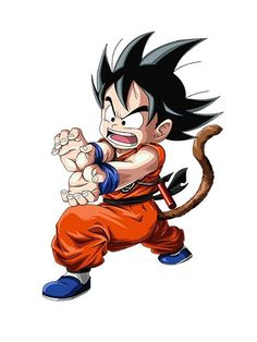 Kid Goku was the OG!
