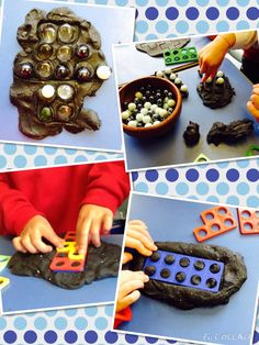 Numicon and play dough rockmyclassroom.com