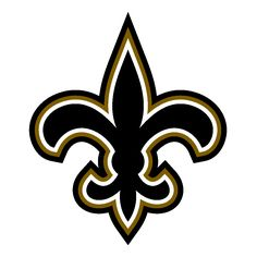 new orleans saints clip art new orleans saints alt logo by rh pinterest com new orleans saints logo clip art free new orleans saints symbols free clipart