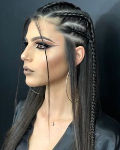 29 Trendy Braided Hairstyles For Long Hair To Look Amazingly Awesome : Page 8 of 26 : Creative Vision Design hair style – Hair Models-Hair Styles Side Braid Hairstyles, Frontal Hairstyles, Braided Hairstyles, Wedding Hairstyles, Princess Hairstyles, Hairstyle Short, Updo Hairstyle, Party Hairstyle, Haircut Long