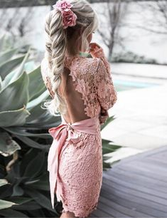 This backless number is one our best sellers! | What to wear on Valentine's Day: 30 Great Outfit Ideas