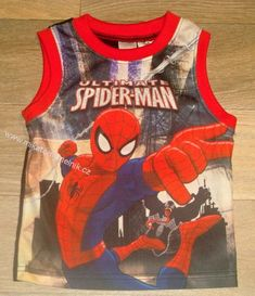 Spiderman chlapecké sportovní tílko vel 92 kluk