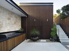 sandstone outdoor feature wall - Google Search