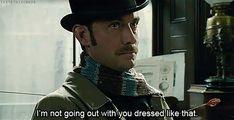 Dr. John Watson: fashion critic.<< haha