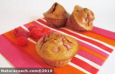 Recette minceur bio : Muffins framboises-chocolat sans beurre, sans sucre et sans gluten Gluten Free Recipes, Vegan Recipes, Desserts Sains, Cooking Light, Dairy Free, Muffins, Food Porn, Brunch, Dessert Recipes