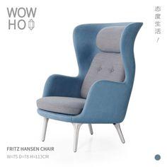 [WOWHOO]fritz hansen ro lounge chair主人椅单人沙发椅-淘宝网