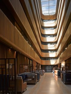 """Flanagan Lawrence's hotel converted from a 1920s cinema has an atrium """"like a gold chandelier"""""""