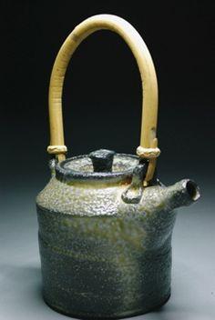 handmade teapot found in JohnMcCoyPottery.com