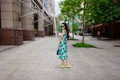 Stephanie Lim: #OOTD : two piece midi ♡