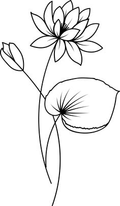 Pencil Drawings Of Flowers, Retro Flowers, Digi Stamps, Stencil, Doodles, Embroidery, Clothes, Ideas, Design