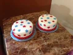 4th of July Cakes ;)))