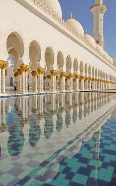 Sheikh Zayed Mosque in Abu Dhabi # mosque