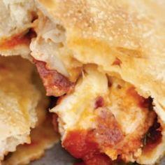 Sopressata And Genoa Salami Calzones | Emerils