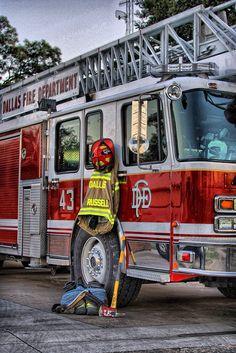 Be a volunteer firefighter