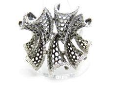 Large Diamonds 1.25 ct. Colour F-G Clarity Vvs1-Vvs2 W. Gold 18k Ring Size O #ANY