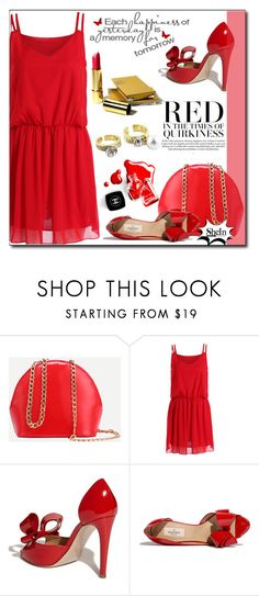 """""""SheIn 3/10"""" by fashion-pol ❤ liked on Polyvore featuring Valentino and Chanel"""