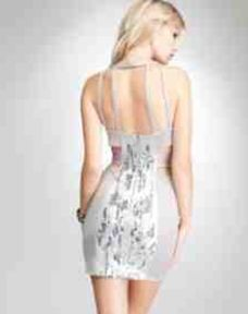 Sexiest part about this dress is the back.  bebe.com…