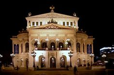Opera House, Frankfurt, Germany  #frankfurt #germany #operahouse