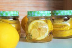 Lili w kuchni: Cytryna w syropie