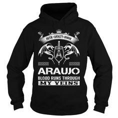 ARAUJO Blood Runs Through My Veins