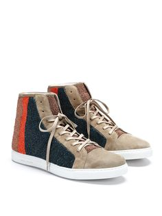 393853e8d3864 Coachella Appropriate  MARC JACOBS Suede High-Top Sneakers Men Looks
