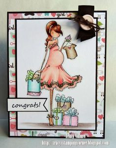 Congrats on Baby by Scrapgirl1210 - Cards and Paper Crafts at Splitcoaststampers