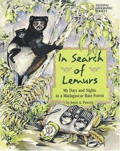 3 Children's Books about Lemurs via kidworldcitizen: Learn about animals and life in Madagascar. #Books #Kids #Science #Lemurs