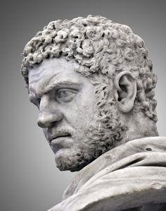 Caracalla (born Lucius Septimius Bassianus). Roman Emperor 211-217 CE.