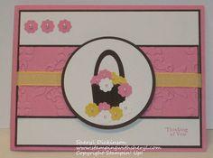 Cupcake Basket by 3boysstampin' - Cards and Paper Crafts at Splitcoaststampers