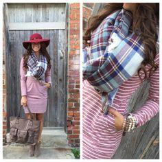 The Tania Striped Knit Dress – Merchant31
