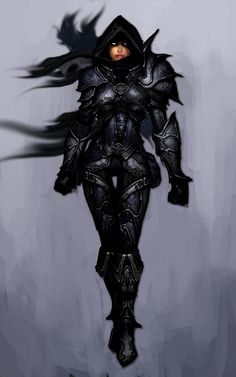Shadow Armour, based off of Diablo's Demon Hunter