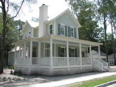 Southern Living House Plans: Turtle Lake Cottage