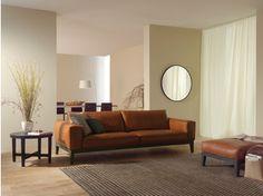 2 seater leather sofa CARESSE FLY   2 seater sofa