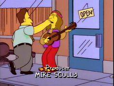 "Hippie: ""♪ Sunshine on my shoulders makes me happy... ♪"""