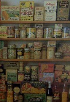 1930s pantry