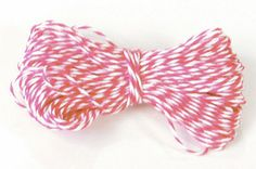 Strawberry Bakers Twine, 15 Yards