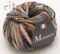 Пряжа Seam MOSAICO - СЕАМ <- Пряжа для ручного вязания - Каталог | Пряжа для города