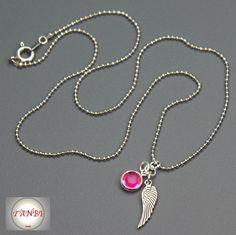 Kette Engel Nr. 8 von TANBI-kids auf DaWanda.com