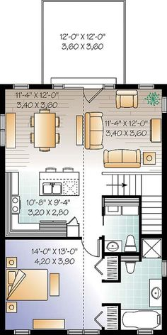 900 square foot house plans gallery floor plans layout for Open floor plan garage apartment