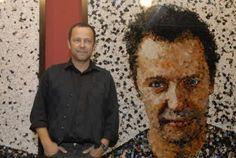 Vik Muniz, artista plástico e cineasta! Produziu o documentário Lixo Extraordinário!