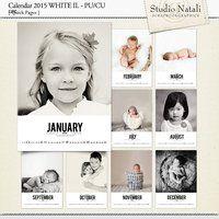 Calendar 2015 white 2