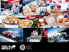 A collage from Brighton Foodies Festival.
